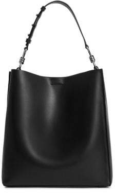 AllSaints Captain Leather Tote Bag