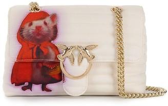 Pinko Love quilted shoulder bag