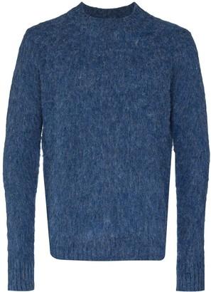 Aspesi Textured Crewneck Wool Jumper