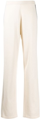 Chinti and Parker Side Stripe Knitted Trousers
