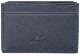 Royce New York RFID-Blocking Leather Card Case