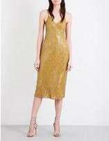 Diane von Furstenberg Havita sequinned silk midi dress