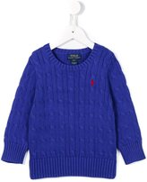Ralph Lauren cable knit jumper - kids - Cotton - 12 yrs