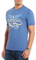 Daniel Cremieux Jeans American Short-Sleeve Crewneck Graphic Tee