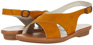 Paul Green Celine Sandal (Curry Nubuck) Women's Shoes