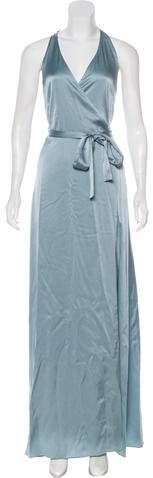 Diane von Furstenberg 2018 Satin Wrap Dress