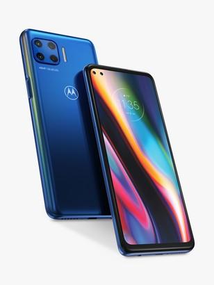 Motorola G 5G plus Smartphone, 4GB RAM, 6.7, 5G LTE, SIM Free, 64GB, Surfing Blue