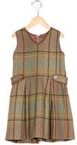 Rachel Riley Girls' Wool Plaid Dress