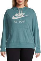 Nike Gym Vintage Hoodie - Plus