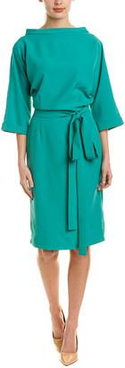 Sash Sheath Dress