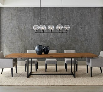 Pottery Barn Malcolm Extending Dining Table