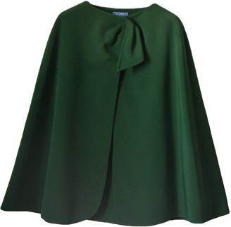Thierry Mugler Green Synthetic Jackets