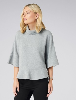 Forever New Lorinda Cape Cut and Sew - Grey - xxs