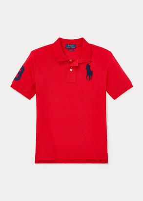 Ralph Lauren Big Pony Cotton Mesh Polo