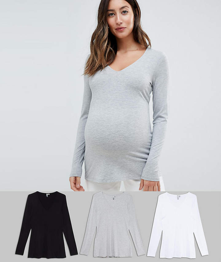 551ae7956dd7f Asos Maternity Tops - ShopStyle