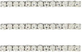 Jennifer Behr Gwen set of 3 crystal bobby pins