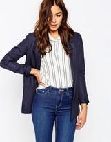 Asos Premium Tailored Linen Blazer