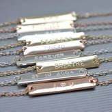 Jamie London Personalised Bar Bracelet