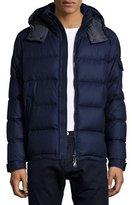 Moncler Montgenevre Quilted Puffer Jacket, Blue