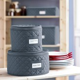 Williams-Sonoma Quilted China Storage Cases