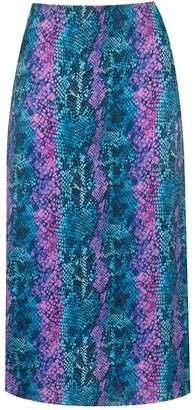 Primrose Park London Janie Skirt In Snake