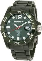 Haurex Italy Men's Caimano Date Dial Plastic Sport Watch V7354UVV