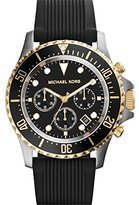 Michael Kors Men's Everest MK8366 Rubber Quartz Watch