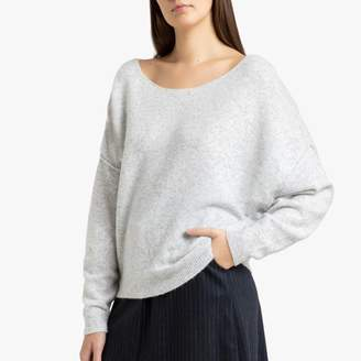 American Vintage Damsville Boat-Neck Jumper in Chunky Knit