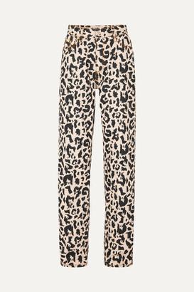 Eytys Benz Leopard-print High-rise Jeans - Leopard print