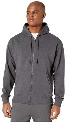 Champion Powerblend(r) Fleece Full Zip Sweatshirt (Black) Men's Sweatshirt