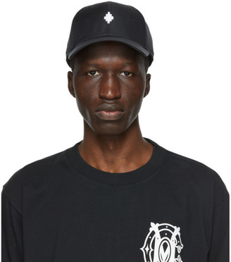 Marcelo Burlon County of Milan Black Starter Black Label Edition Cross Cap