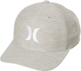 Hurley One And Textures Fitted Cap Grey
