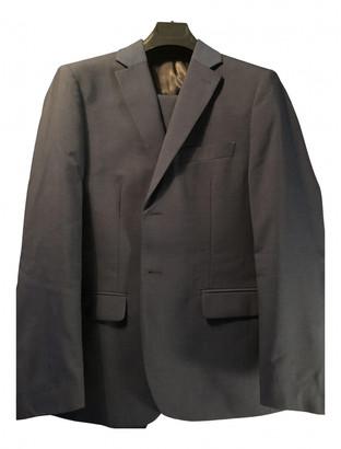 John Varvatos Navy Wool Suits