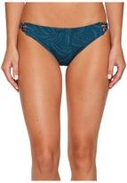 Roxy Jungle 70's Bikini Bottom Women's Swimwear