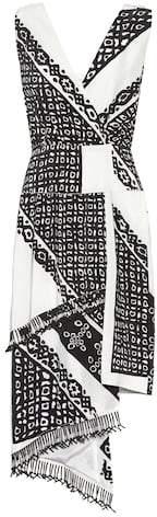 Altuzarra Pavilion printed silk dress