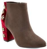 Women's Diamond by FarylRobin Fawcett Embellished Heel Ankle Boots