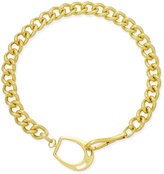 Lauren Ralph Lauren Gold-Tone Chain Collar Necklace