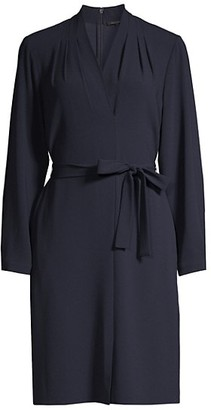 Kobi Halperin Charlee Crepe Long Sleeve Shift Dress