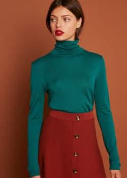 HUGO Marie Sixtine MARIE SIXTINE - Sapin Fir Viscose Womens Sweater - viscose   Fir   xsmall