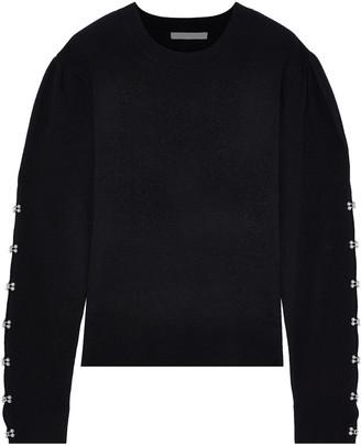 Jonathan Simkhai Embellished Wool-blend Sweater