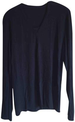 Maison Margiela Navy Viscose Knitwear & Sweatshirts
