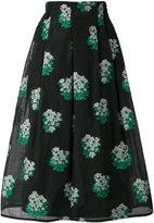 Roseanna floral print midi skirt - women - Cotton/Polyamide - 36