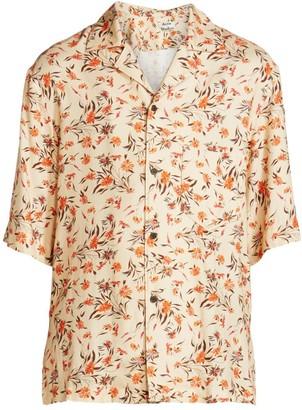 Acne Studios Simon Fluid Flower Shirt