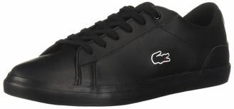 Lacoste Unisex Lerond Sneaker Black 5 Medium US Big Kid