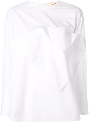 Ports 1961 ruffled blouse