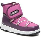 Moon Boot Kids's WE Jr Strap Velcro Ankle Boots in Purple