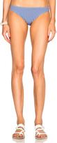 Karla Colletto Seersucker Bikini Bottom