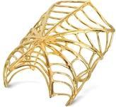 Forzieri Bernard Delettrez Giant Spiderweb Bronze Cuff Bracelet
