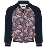 Ikks IKKSGirls Navy Flamingo Jacket