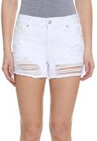 Vigoss Distressed Five-Pocket Denim Shorts
